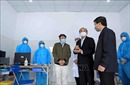 Chủ tịch UBND tỉnh Vĩnh Phúc kiểm tra công tác phòng, chống dịch COVID-19