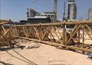 Sập cẩu tháp công trình làm 3 người chết, 2 người bị thương