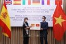Trao hàng hỗ trợ phòng, chống dịch COVID-19 của Việt Nam tặng một số nước châu Âu