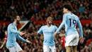 'Phá sập' Old Trafford, Man City tiến bước dài tới ngôi vô địch