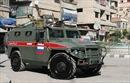 Quân cảnh Nga lần đầu tuần tra thành phố Manbij, Syria