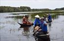 Ramsar Tràm Chim quyến rũ vào mùa nước nổi