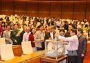 Quy trình lấy phiếu tín nhiệm tại Quốc hội