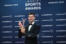Tay vợt Novak Djokovic xuất sắc đoạt danh hiệu 'Vận động viên nam của năm'