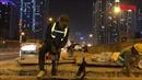 Xuyên đêm sửa chữa xô lệch gối cầu đường vành đai 3 trên cao