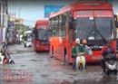 Ngập nhiều tuyến đường tại TP Hồ Chí Minh do mưa lớn 1 giờ đồng hồ