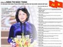 Đồng chí Đặng Thị Ngọc Thịnh, Ủy viên Ban Chấp hành Trung ương Đảng, Quyền Chủ tịch nước CHXHCN Việt Nam