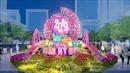 Điểm nhấn của đường hoa Nguyễn Huệ Tết Kỷ Hợi 2019 là chú heo đất nghĩa tình
