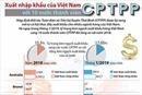 Xuất nhập khẩu của Việt Nam với 10 nước thành viên CPTPP