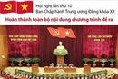 Bế mạc Hội nghị lần thứ mười Ban Chấp hành Trung ương Đảng khóa XII