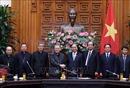 Thủ tướng Nguyễn Xuân Phúc tiếp Đoàn Hội đồng Giám mục Việt Nam