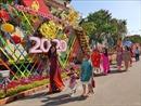 Rực rỡ đường hoa 'Xuân hy vọng' ở Ninh Kiều