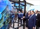 Thủ tướng kiểm tra Trung tâm Báo chí quốc tế phục vụ Hội nghị Thượng đỉnh Mỹ-Triều