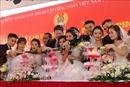 Lễ cưới tập thể của 10 cặp đôi công nhân lao động Hải Phòng