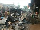 Hỏa hoạn thiêu rụi chợ biên giới Hòa Bình, Tây Ninh