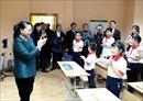 Chủ tịch Quốc hội Nguyễn Thị Kim Ngân thăm lớp học tiếng Việt tại thủ đô Minsk, Belarus