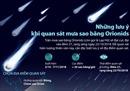 Cơ hội ngắm mưa sao băng Orionids trong đêm 21/10