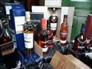 Bắt giữ hơn 1.000 chai rượu Tây nhập lậu từ Trung Quốc