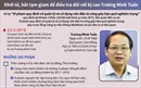Khởi tố, bắt tạm giam nguyên Bộ trưởng Trương Minh Tuấn