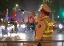 Bắt giữ 7 đối tượng đốt pháo sáng trong đêm 'đi bão'