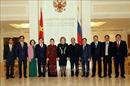 Chủ tịch Quốc hội Nguyễn Thị Kim Ngân và Chủ tịch Hội đồng Liên bang Nga gặp gỡ báo chí