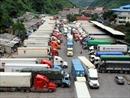 Gần 600 xe chở nông sản, hàng hóa chờ thông quan ở cửa khẩu