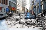 Ảnh ghép về San Francisco ngày nay và sau trận động đất 1906