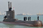 Một tàu ngầm của Indonesia mất liên lạc