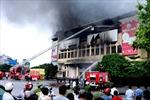Khởi tố vụ cháy Trung tâm thương mại Hải Dương