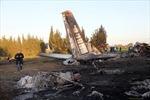 Rơi máy bay quân sự Libya, 11 người thiệt mạng