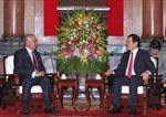 Chủ tịch nước Trương Tấn Sang tiếp Thủ tướng Malaysia