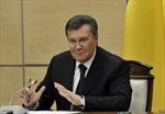 Cựu Tổng thống Yanukovych có cơ hội trở lại chính trường