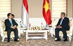 Thủ tướng Nguyễn Tấn Dũng hội kiến Tổng thống Myanmar và Tổng thống Indonesia
