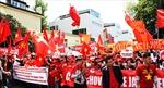 Hơn 2.000 người Việt tại Séc biểu tình phản đối Trung Quốc