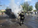 Đụng độ tại điểm nóng Slavyansk