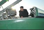Ông Kim Jong Un thị sát căn cứ không quân