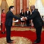 Chủ tịch nước tiếp các đại sứ trình quốc thư