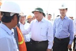 Phó Thủ tướng Nguyễn Xuân Phúc kiểm tra dự án nâng cấp QL 1