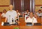 Tổng Bí thư chủ trì phiên họp Tiểu ban Văn kiện Đại hội XII của Đảng