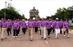 Lào tổ chức đi bộ kỷ niệm 17 năm gia nhập ASEAN