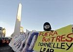 """Chính phủ Argentina cáo buộc công ty Mỹ """"khủng bố"""""""