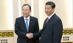 Trung Quốc và LHQ thảo luận các vấn đề quốc tế nóng