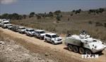 Philippines bắt đầu rút quân khỏi Cao nguyên Golan