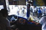 Thử nghiệm xe buýt táo bạo ở Campuchia