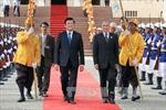 Chủ tịch nước hội kiến Quốc vương Campuchia