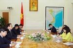 Tiếp Chủ nhiệm Ủy ban Ngoại giao và Phòng vệ Thượng viện Nhật Bản