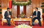 Thủ tướng Nguyễn Tấn Dũng tiếp Bộ trưởng Thông tin Myanmar