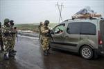 Lính Ukraine rút khỏi nhà ga sân bay Donetsk