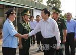 Chủ tịch nước Trương Tấn Sang thăm và làm việc tại An Giang