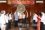 Đồng chí Nguyễn Thiện Nhân chúc Tết Ban chỉ đạo Tây Nam Bộ